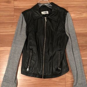 Girl leather jacket from Charlotte Russe